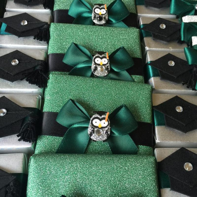 Graduations - Pavé is perfect for graduation celebrations